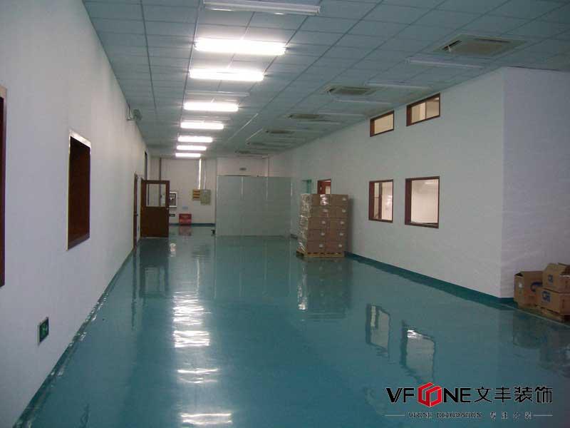 深圳沙井厂房装修